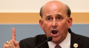 CLOSET HOMOSEXUAL LOUIE GOHMERT WITH THE SHAPE OF HIS MOUTH TO PROVE IT, WANTS THE US TO BLOW UP ALL IRANIAN NUCLEAR SITE AND CONTAMINATE THE ENTIRE MIDDLE EAST, WHAT A MORON